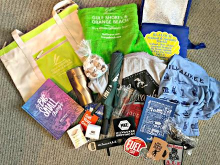Travel-inspired giveaway from The Epicurean Traveler.