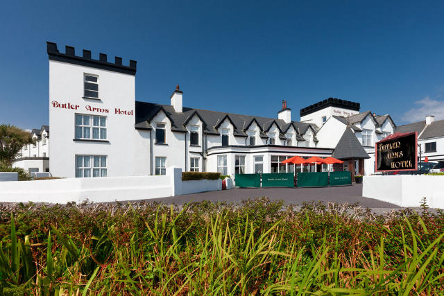 The Butler Arms Hotel in Waterville, Ireland.