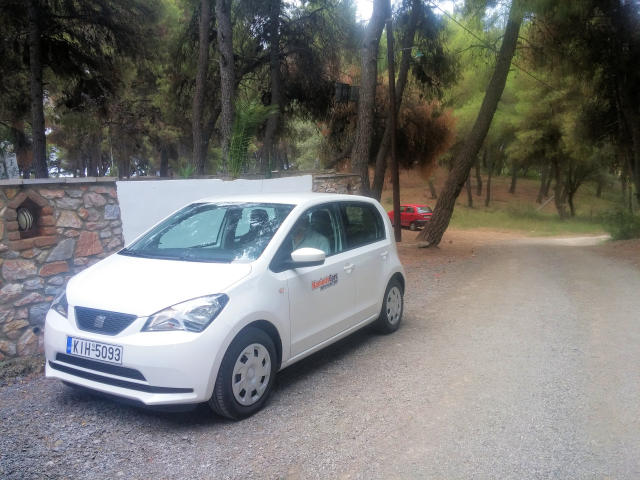 Car rentals in Greece.