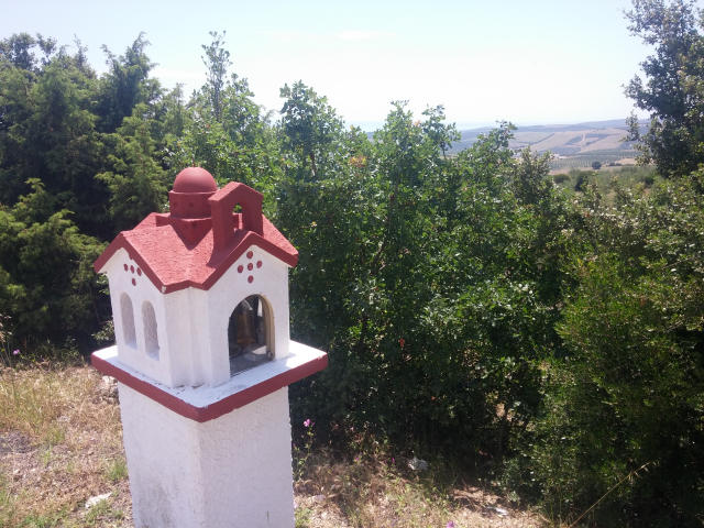 Roadside shrines in Greece.