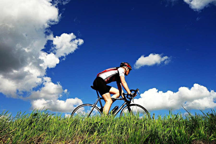 Bike in Anacortes.