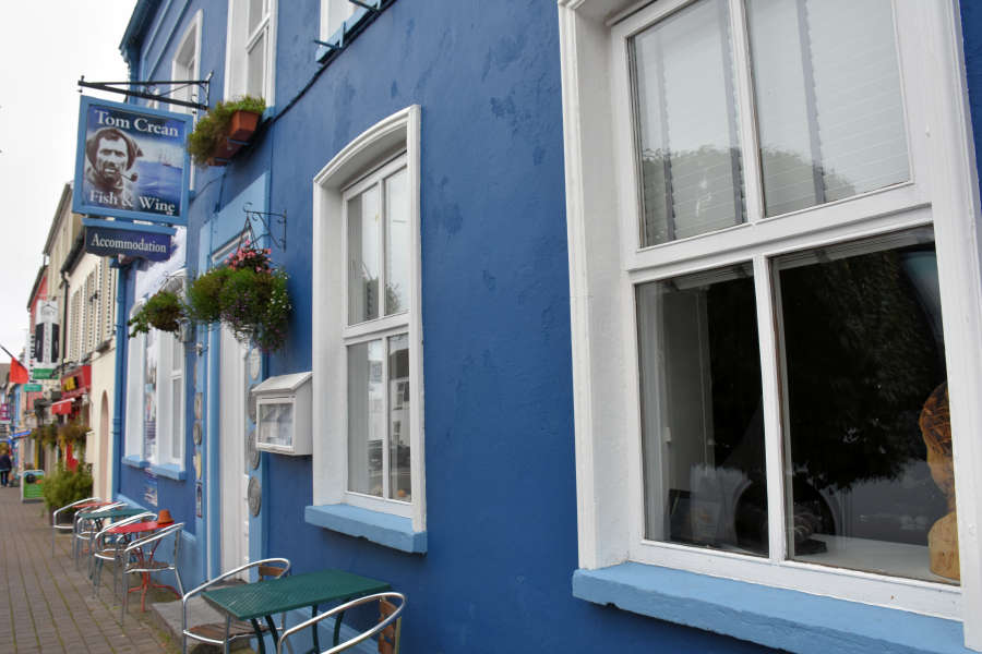 Tom Crean Fish & Wine & Accommodation in Kenmare, Ireland.