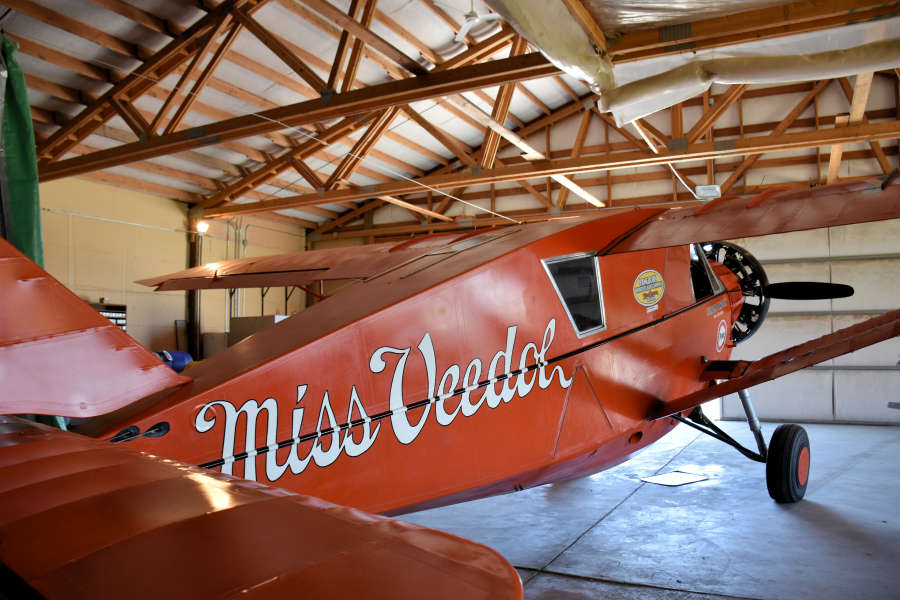 The Miss Veedol in Wenatchee, Washington.