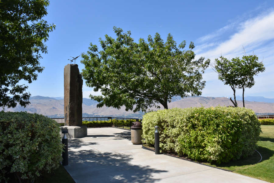 Pangborn Herndon Memorial in Wenatchee, Washington.