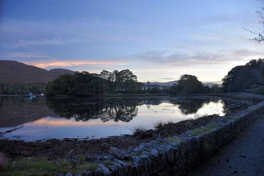 Riverwalk in Kenmare, Ireland.