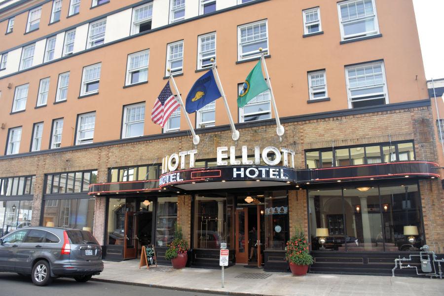 The Hotel Elliot in Astoria, Oregon.