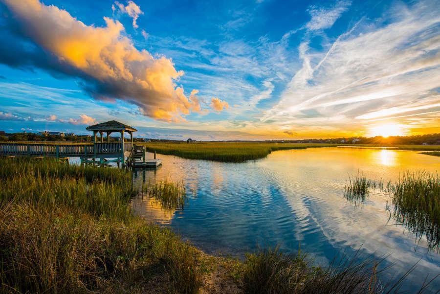 Huntington Beach State Park in Myrtle Beach, South Carolina.
