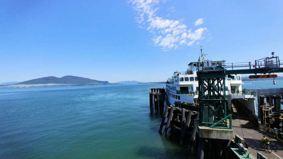 Anacortes ferry terminal.