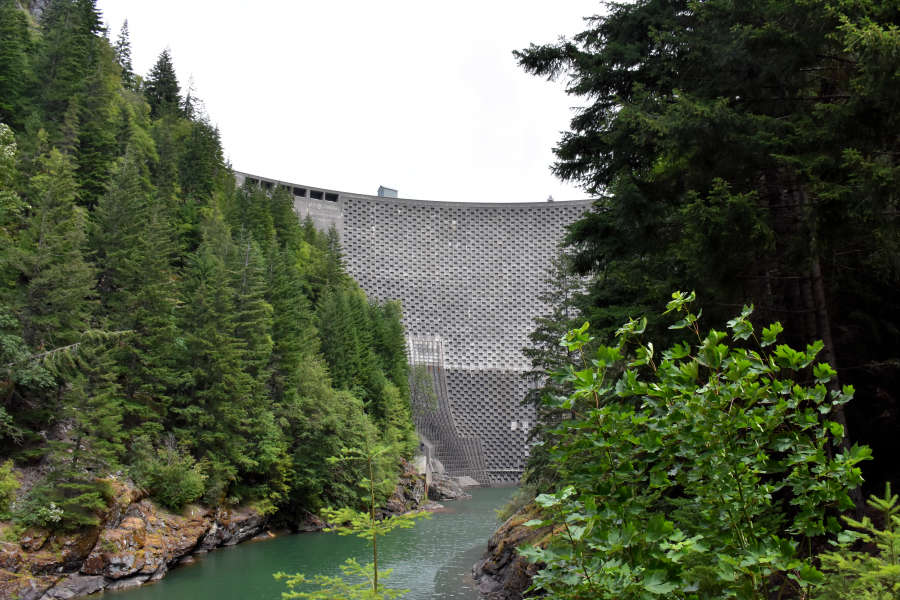 Ross Dam in the North Cascades National Park.