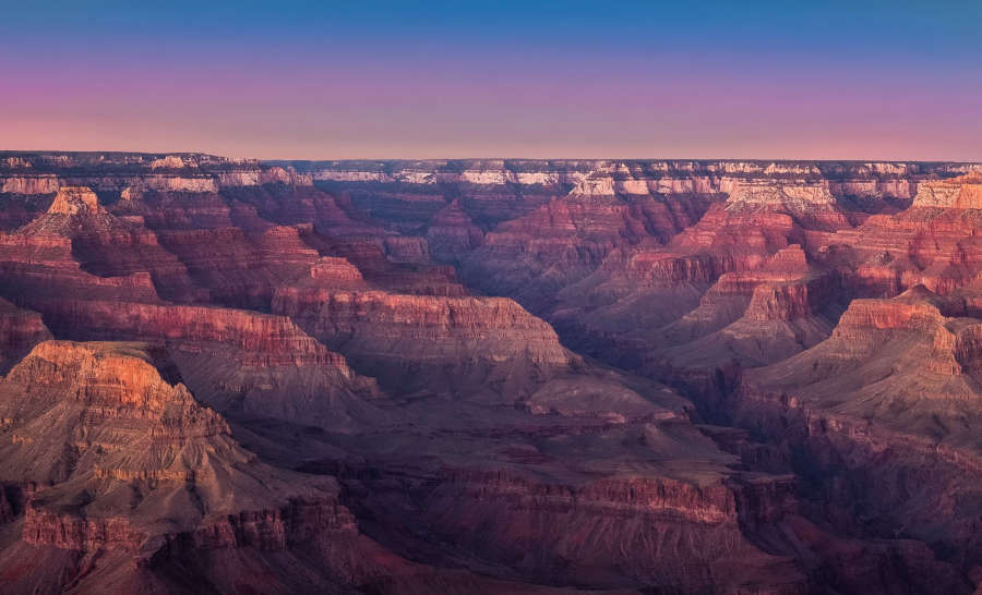 The Grand Canyon in the USA.