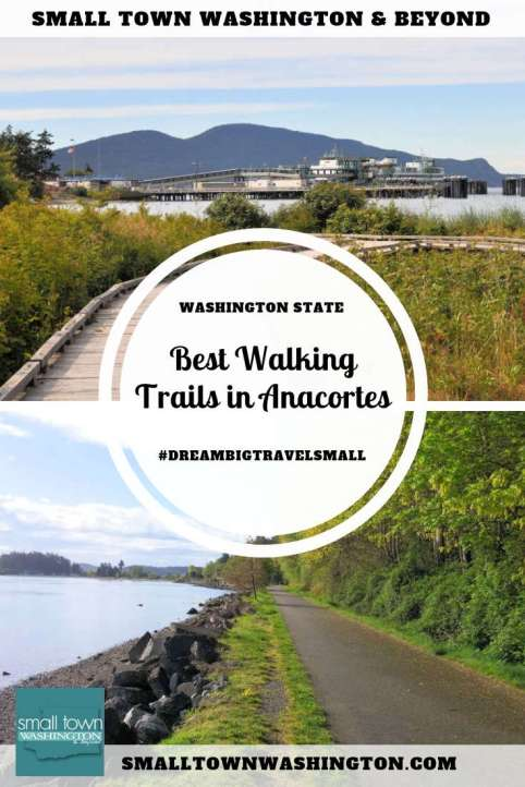 Best walking trails in Anacortes, Washington.