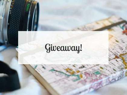 Travel guide book giveaway.