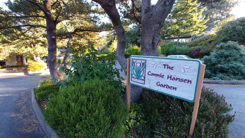 The Connie Hansen Garden in Lincoln City, Oregon.