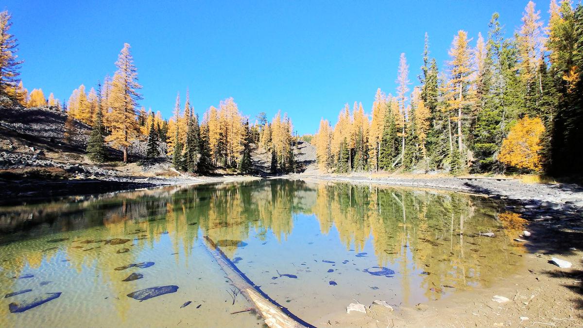 Clara Lake in Wenatchee, Washington.