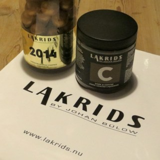 Treats from Lakrids (available EVERYWHERE!)