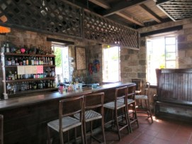 Restaurant/bar at Shirley Heights