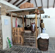 """A display at the Whim Estate - """"Last Lap Stables"""""""