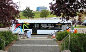 GTAA Airside Tour bus