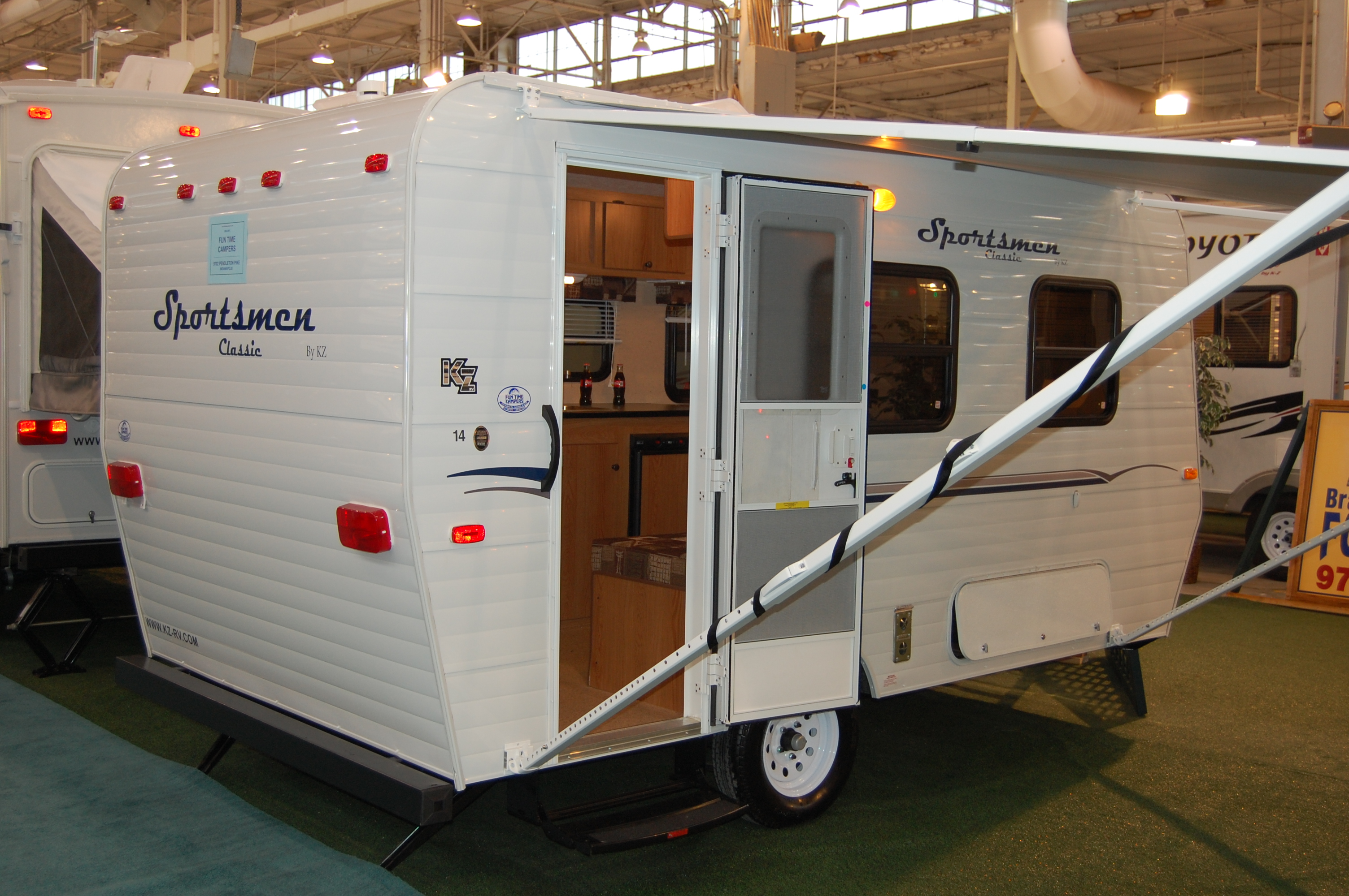 Coleman Pop Up Camper Floor Plans The Crowded 14 Floor Plan The Small Trailer Enthusiast