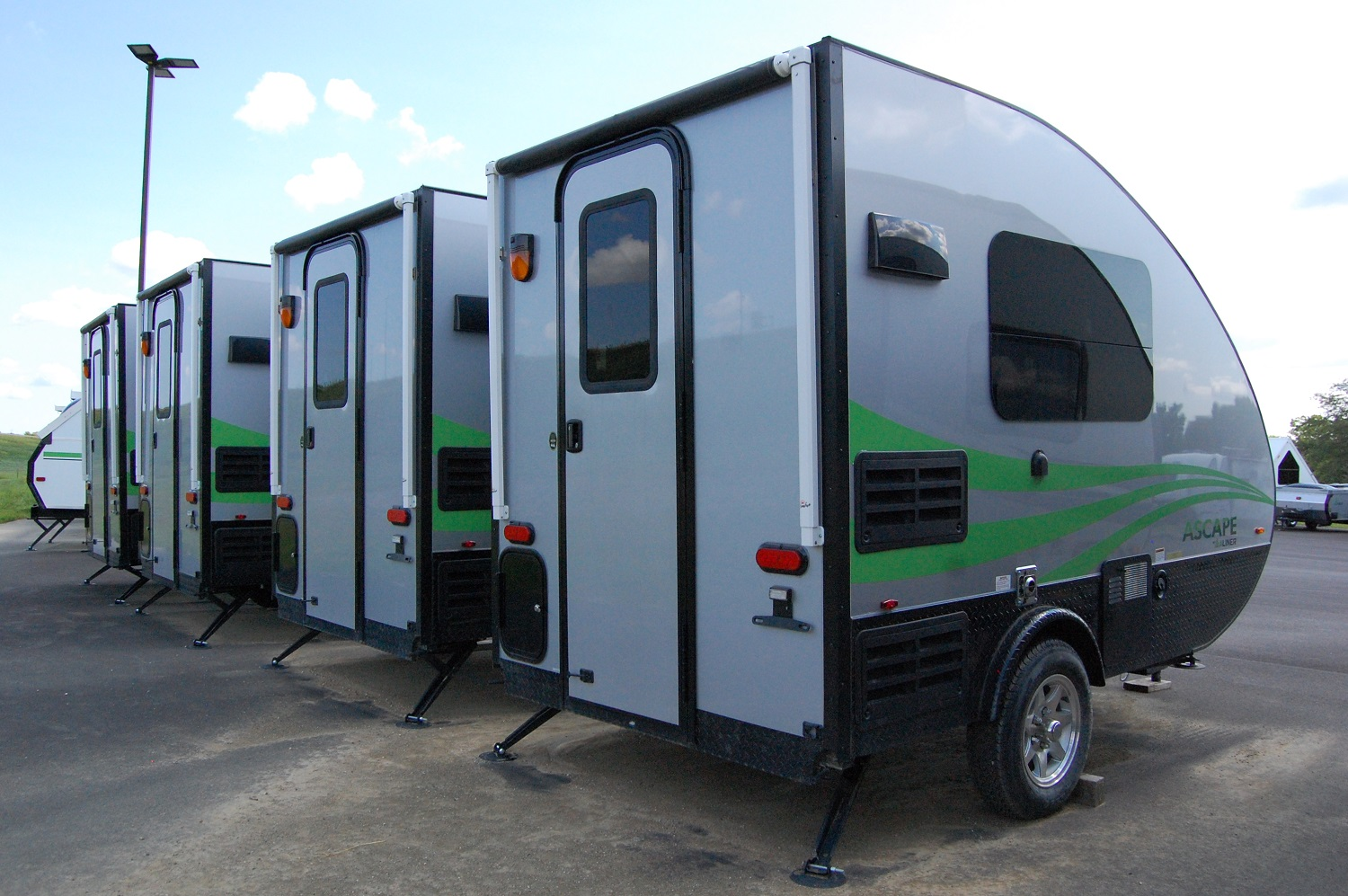 2018 Aliner Ascape Firsthand Report The Small Trailer Enthusiast