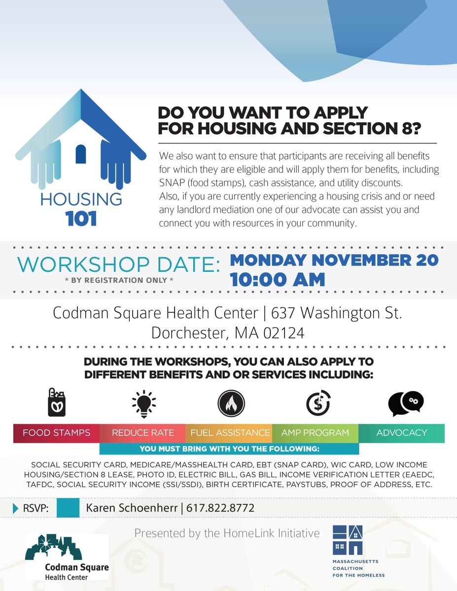 Section 8 Voucher Workshop