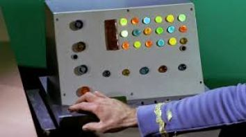 still from Star Trek - image of computer and hand