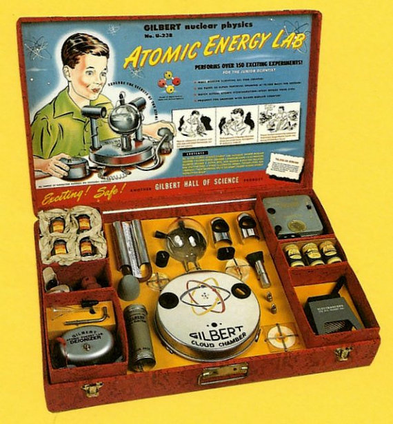 advert for Atomic Energy Lab from 1952