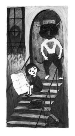 'Subterranea' graphite drawing, 2012