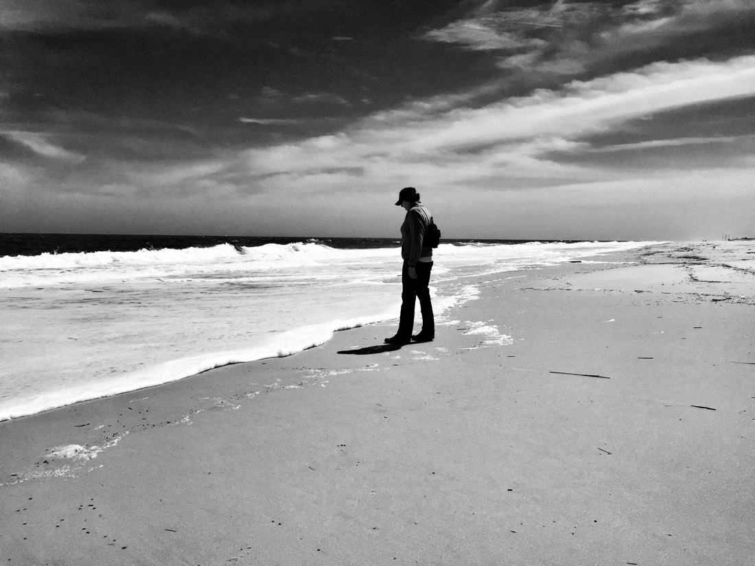A little alone time at Dewey Beach in Delaware