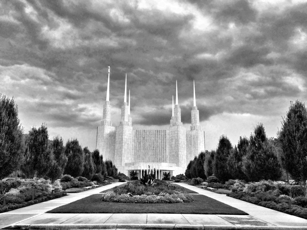 The Mormon Temple in Kensington, Maryland