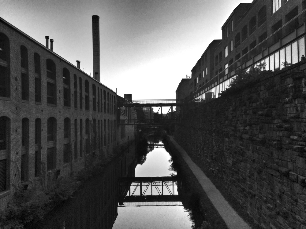 The C & O Canal in Georgetown, Washington DC