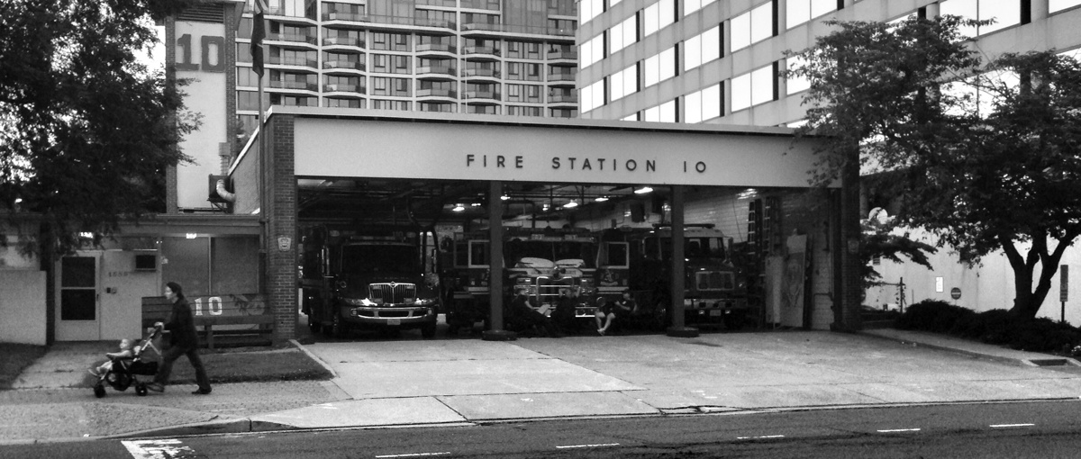 Fire Station 10 in Arlington, Virginia