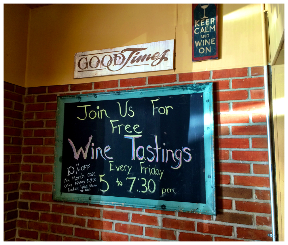 Free Wine Tastings at the Kensington Mart in Kensington, Maryland