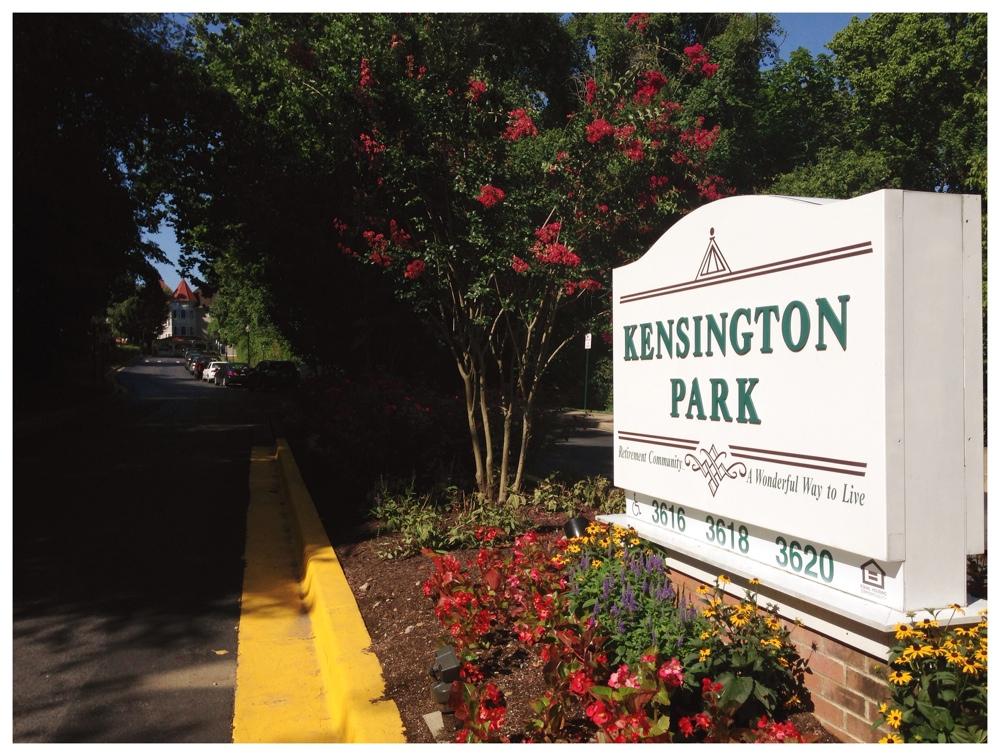 Kensington Park Retirement Community in Kensington, Maryland