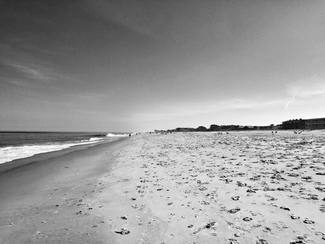 sand and more sand at rehoboth beach, de