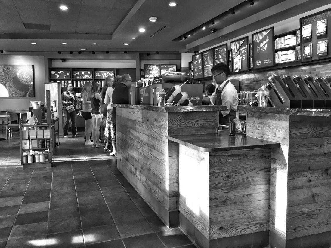starbucks on wiscousin ave in bethesda, maryland