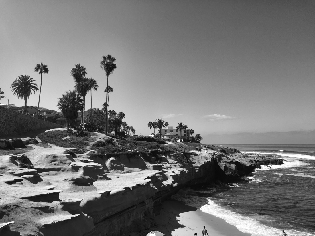 beaches and headland in la jolla, ca