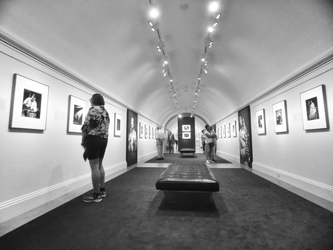 in the groove exhibit at the smithsonian national portrait gallery in washington dc