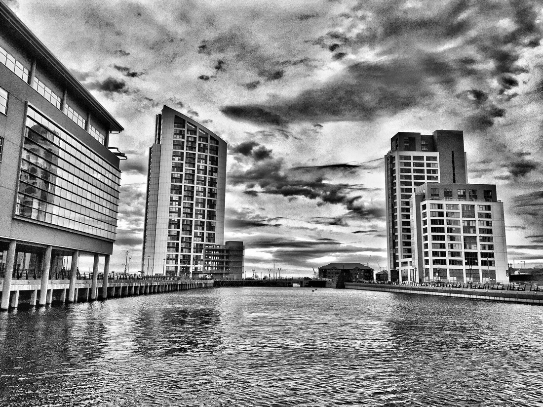 Princes dock in Liverpool