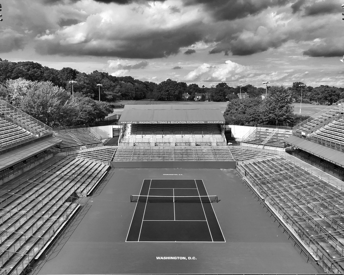 Rock creek park tennis center in Washington DC