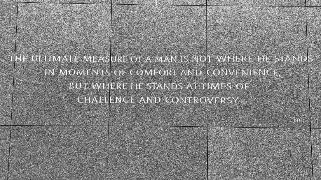 Martin Luther king, jr memorial in Washington DC