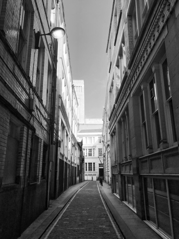 Sweeting Street in central Liverpool.