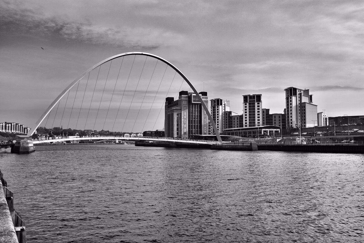 Bridges across the River Tyne in Newcastle upon Tyne, England