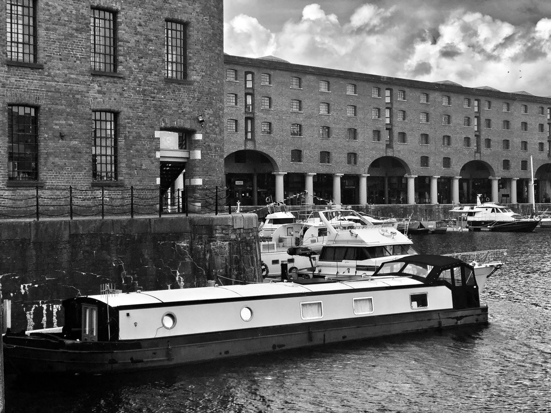 Walking around The Royal Albert Dock in Liverpool, England