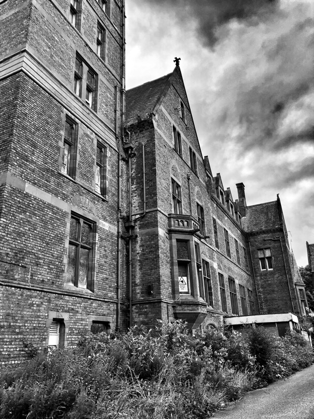 Park Hospital in Newsham Park, Liverpool which started life as a Seaman's Orphanage