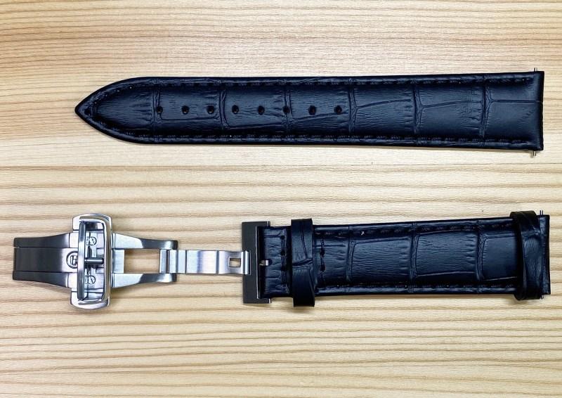 Leather band black 7