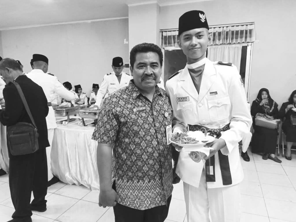 Alumnus SPANEWA Kibarkan Merah Putih di Kota Malang 2