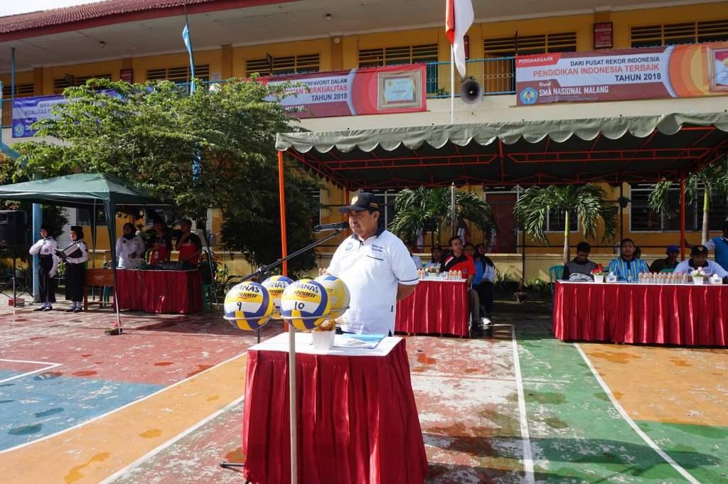 Atlet Voli SMP Malang Raya Junjung Sportivitas dalam SMANAS Cup 2020 1
