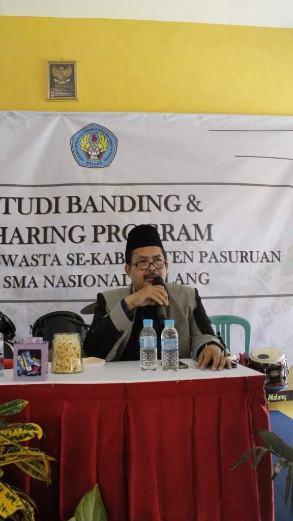 Studi Banding dan Sharing Program dengan MKKS Swasta Kabupaten Pasuruan 1