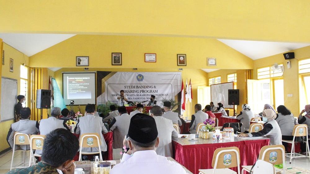 Studi Banding dan Sharing Program dengan MKKS Swasta Kabupaten Pasuruan 2